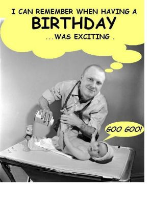 jim vanhollebeke's weird fotos  gallery /dan's first, Birthday card